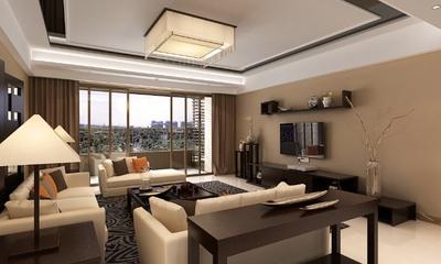 客厅灯饰装修效果图 浓情中式风