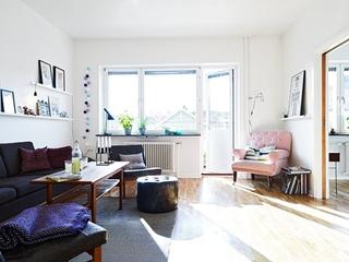 白色质感宜家三居室欣赏