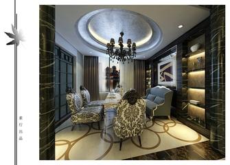 欧式风格装饰住宅设计效果图