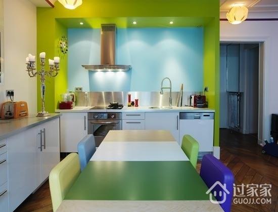色彩斑斓混搭住宅欣赏