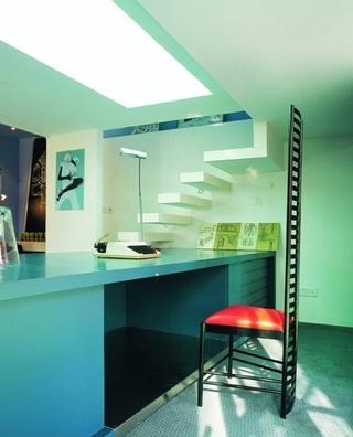 简约住宅装饰设计效果图吧台设计