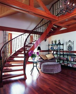 185平东南亚住宅欣赏客厅设计