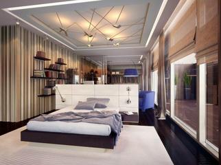 豪华现代梦幻住宅欣赏卧室设计