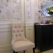 欧式设计风餐厅单人沙发