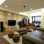 简约中式客厅沙发