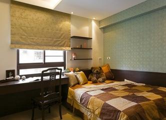 中式风格三室两厅欣赏儿童房
