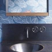 混搭设计波西米亚住宅欣赏洗手间