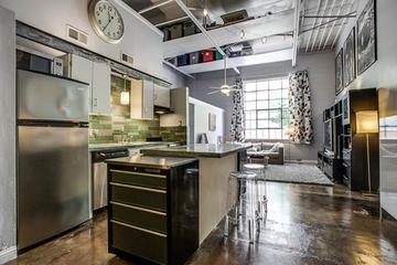 73平开放式混搭公寓欣赏厨房