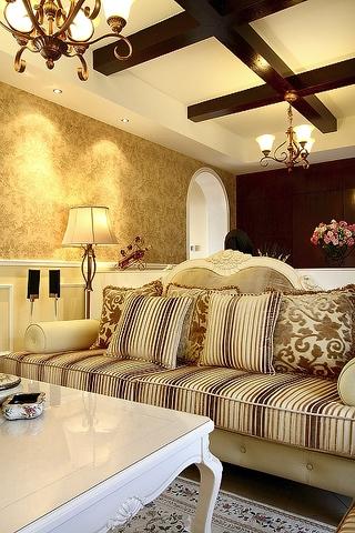 100平米三室两厅欣赏客厅陈设