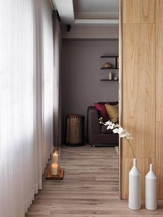 现代风两居室住宅欣赏卧室局部