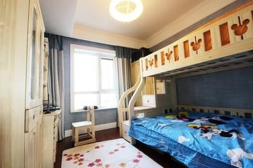 简约三室两厅案例欣赏儿童房设计