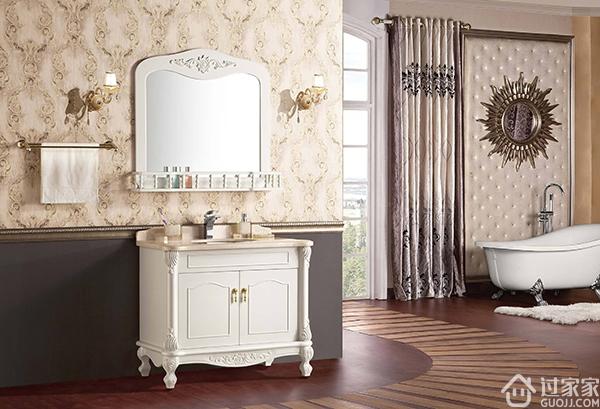 欧式浴室柜给人一种自然的回归感!