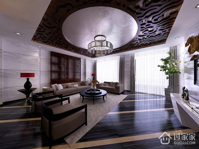 125平现代大宅设计欣赏