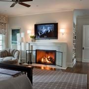 欧式风格别墅效果图赏析卧室背景墙