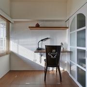 82平简约乡村住宅欣赏书房设计