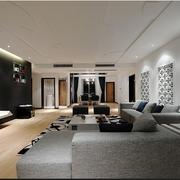 中式家居风格客厅一角