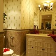 欧式风格样板房卫浴柜