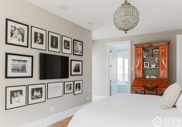 灵性十足的设计为整个居室增添了无限生机 非简约客厅电视背景墙莫属