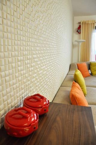 客厅背景墙装修效果图 简约时尚家居