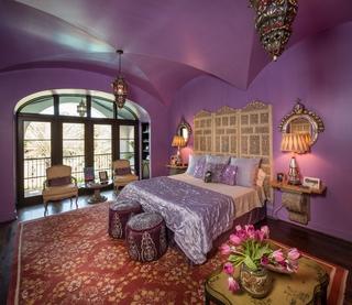 混搭奢华设计效果图卧室效果图