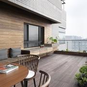 现代简约风公寓套图露台