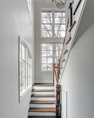 欧式装饰效果图设计欣赏楼梯间