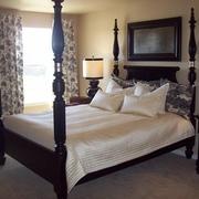 美式乡村别墅效果套图卧室