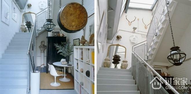 精致北欧复式公寓欣赏楼梯间