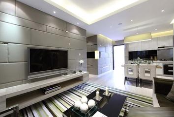现代时尚客厅电视柜效果图