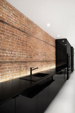 现代白色极致别墅欣赏厨房效果