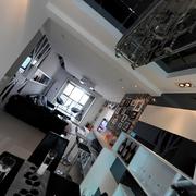 现代设计80后公寓欣赏餐厅效果图设计