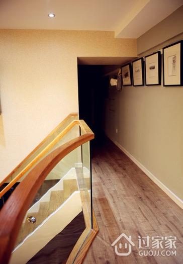 50平简约温馨loft走廊设计