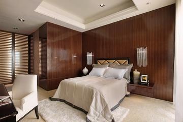 东南亚装修卧室