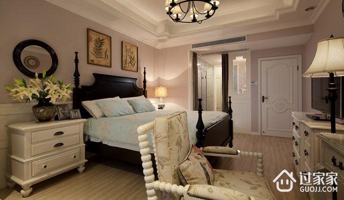 美式田园卧室设计效果图 舒适自在