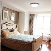 温馨简欧公寓 卧室背景墙装修效果图