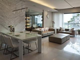 93平现代工业风三居室装修
