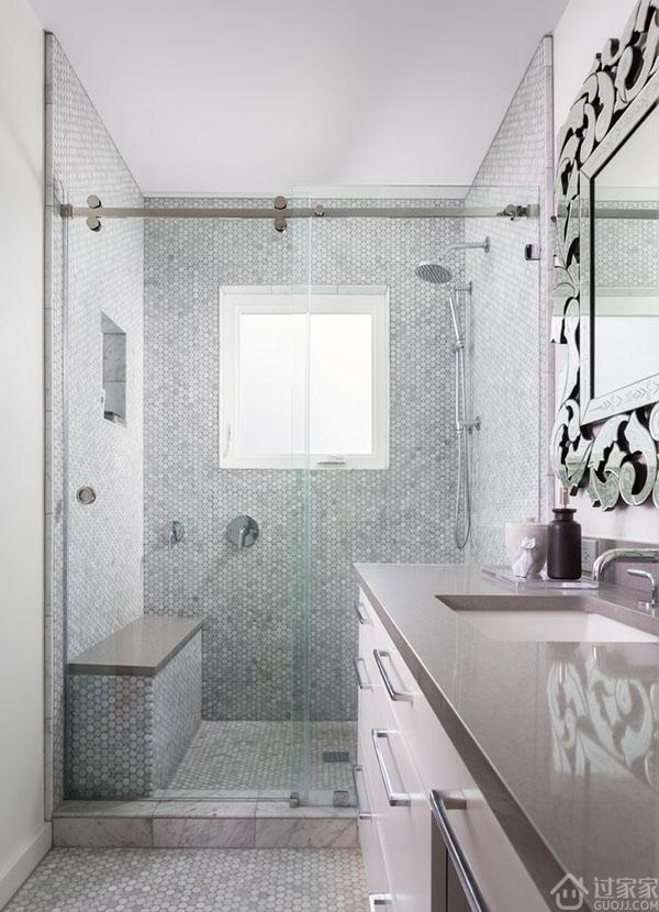 2,4平米小浴室装修效果图大全2013图片