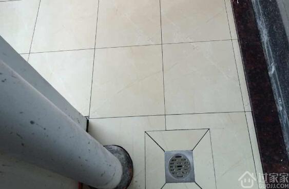 工艺节点8:地漏位置确认