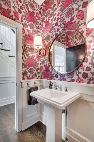 现代装饰设计别墅洗手台