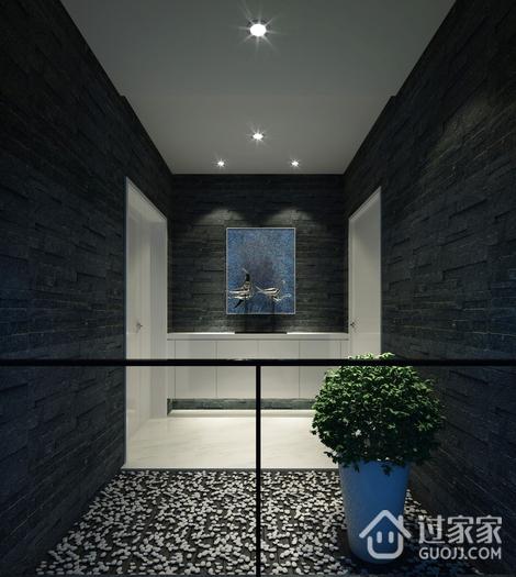 现代风格大气住宅欣赏过道