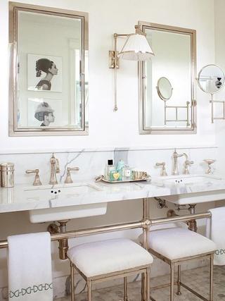 优雅大气简约三居欣赏洗手间