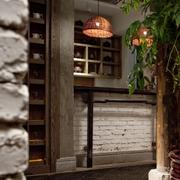 中式古典风室内一景