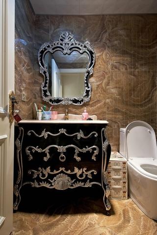 新古典精致住宅欣赏卫生间