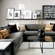 传统与现代的结合设计欣赏客厅