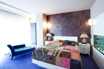 青春现代奢华复式欣赏卧室