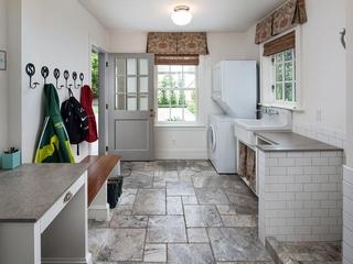 里约热内卢田园风格洗衣间