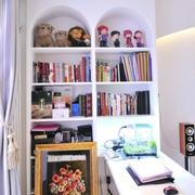 50平小户型地中海设计欣赏书房