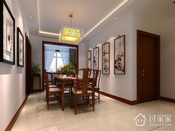 71平现代温馨住宅欣赏餐厅餐桌