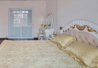 118平白色简欧住宅欣赏卧室室内门
