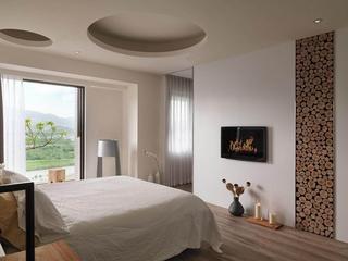 现代风两居室住宅欣赏卧室效果